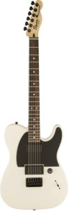 Fender Squier 301020580 Jim Root Signature Telecaster 6-Strings Electric Guitar, Right-Handed, White