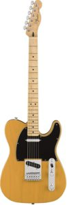 Fender Standard Telecaster Electric Guitar - Maple Fingerboard - Butterscotch Blonde