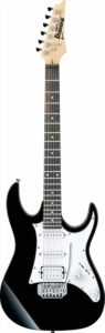 Ibanez GRX - 40 - BKN, 6 Strings Electric Guitar,  Right-Handed, Black Night, without case