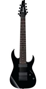 Ibanez RG8 - BK, 8 Strings Electric Guitar, Right-Handed, Black, without case