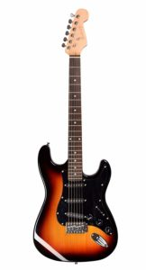 Juarez JRZ-ST01 6-String Electric Guitar, Right Handed,  Sunburst, Without Case