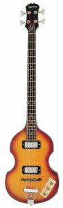 Epiphone Viola Electric Bass Guitar, Vintage Sunburst