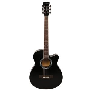 Kadence Frontier Series, Black Acoustic Guitar