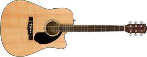 Fender CD-60 SCE NAT  Dreadnought Semi Acoustic Guitar